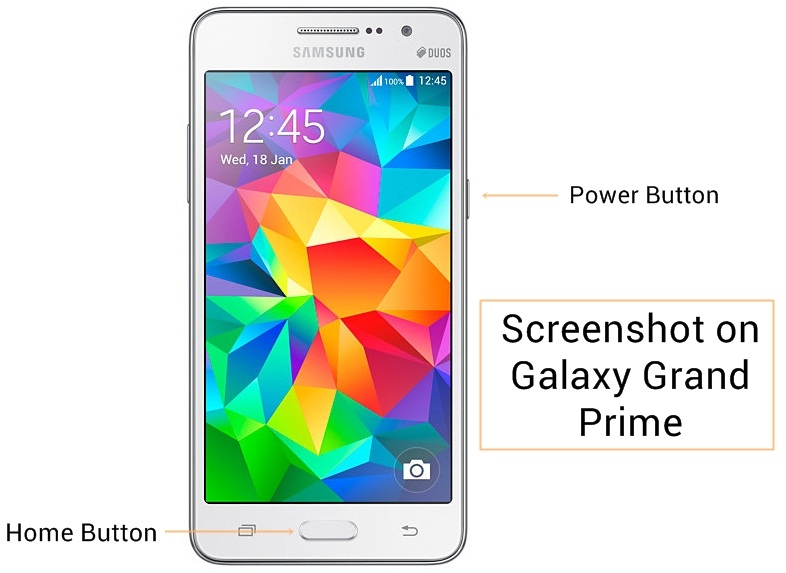 Samsung Galaxy Grand Prime Screenshot