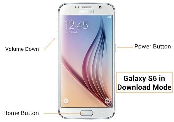 Samsung Galaxy S6 Download Mode