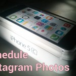 Schedule Instagram Pictures on iPhone, Android