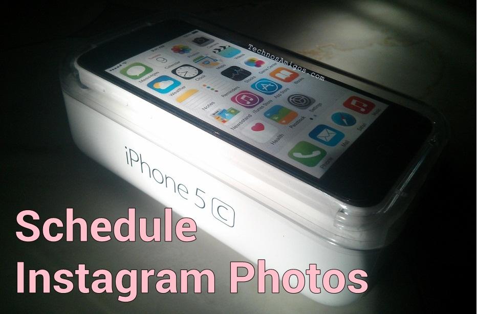 Schedule Instagram on iPhone