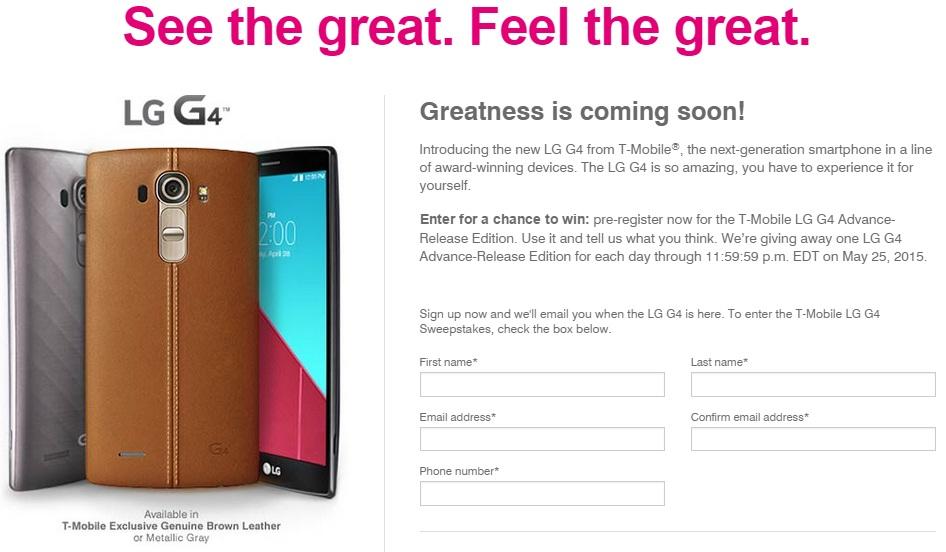 T-Mobile LG G4