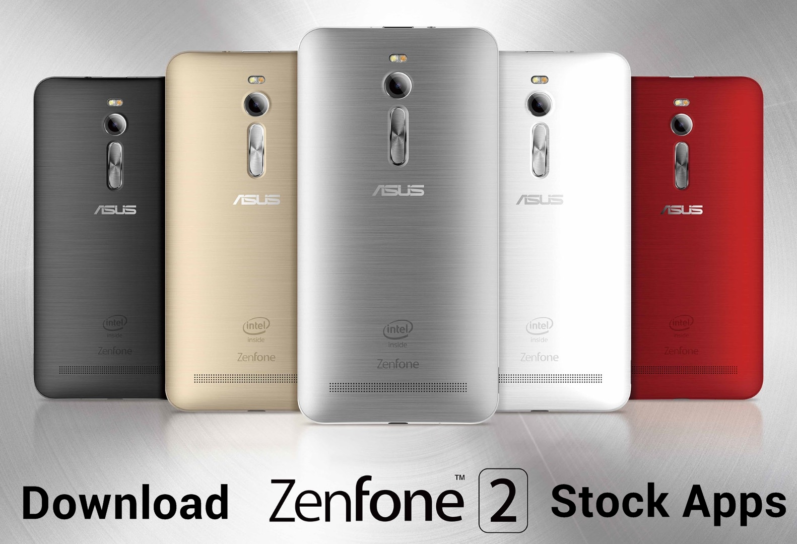 ZenFone 2 Stock Apps