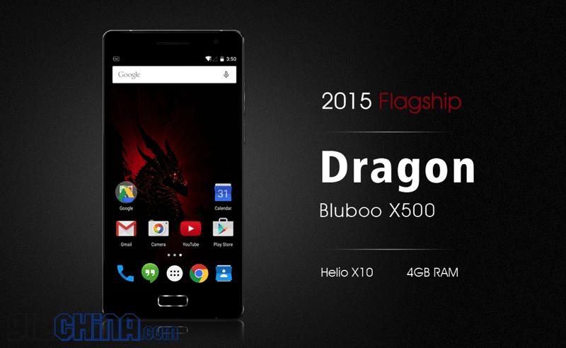 BluBoo X500 Dragon