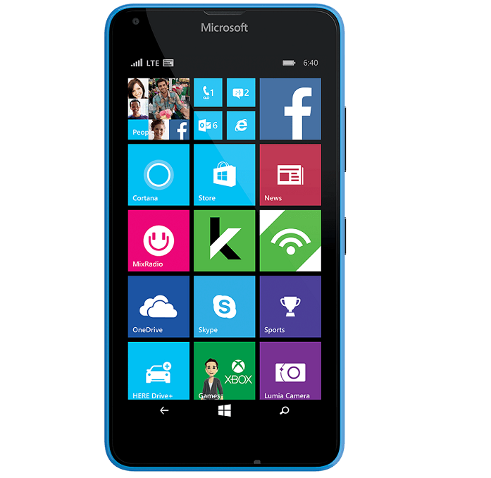 Cricket Wireless Lumia 640