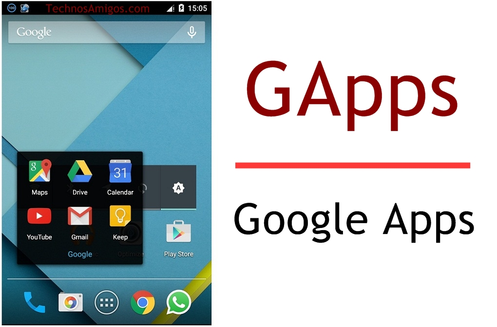 Download GApps for Android