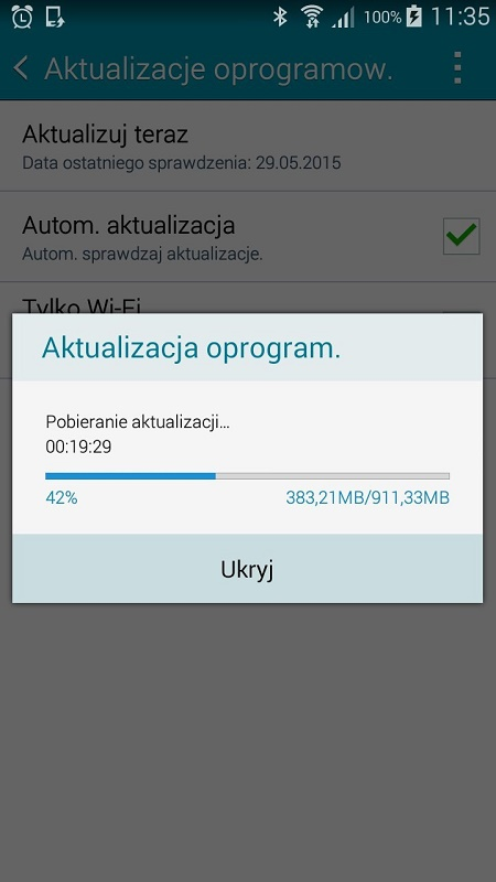 Galaxy A5 Lollipop Update