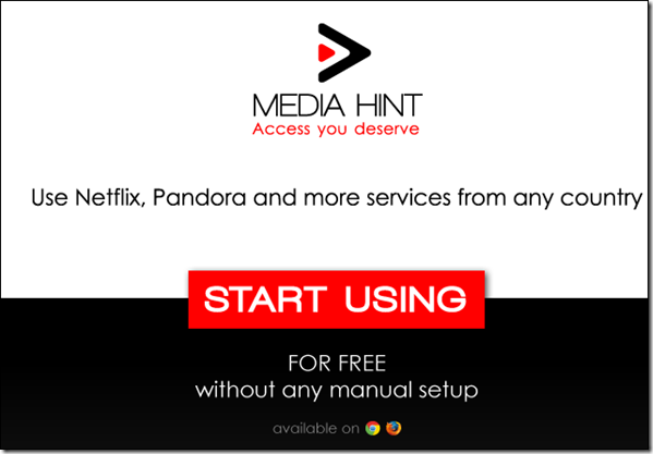 Media Hint - Watch NetFlix Movies outside USA