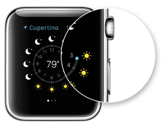 Screenshot on Apple Watch