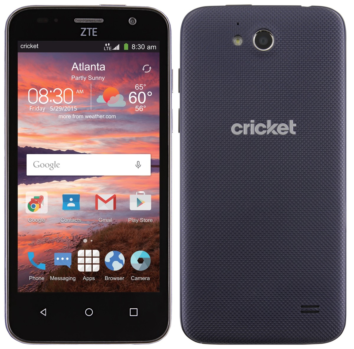 Cricket Wireless ZTE Overture 2