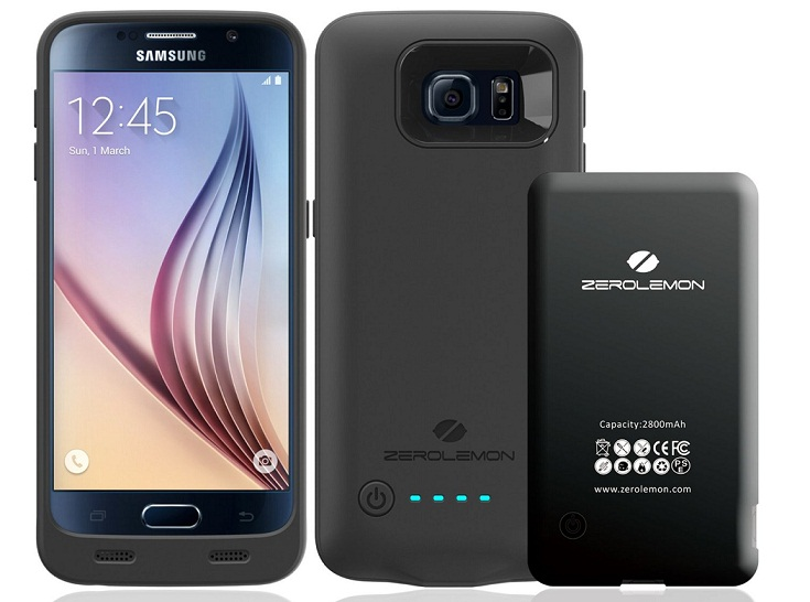 ZeroLemon Galaxy S6 Power case