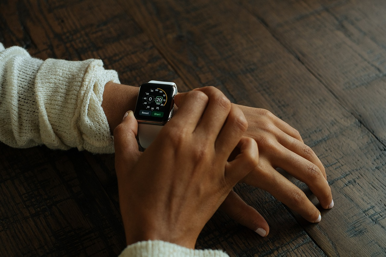 Apple Watch on Hands