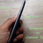 How to Take Screenshot on Micromax Canvas Spark Phones