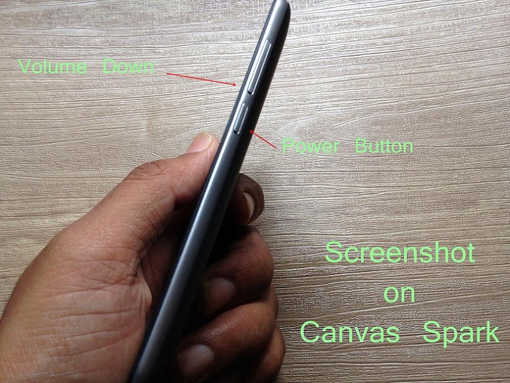 Screenshot on Canvas Spark