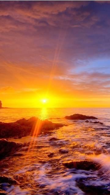 Golden-sunset-Galaxy-Note-4-wallpaper