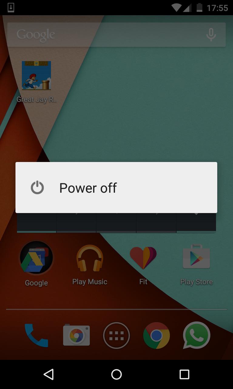 Android Lollipop No Reboot