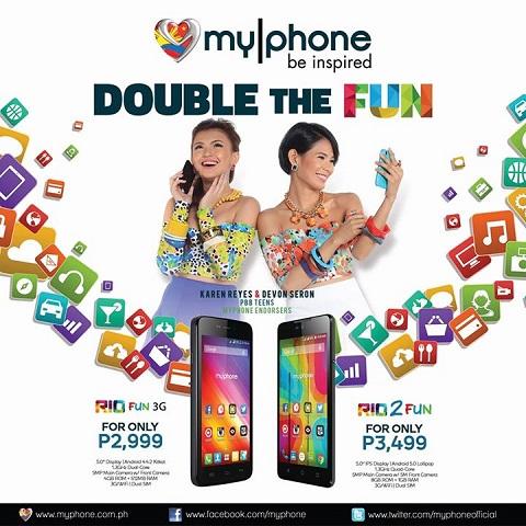 MyPhone Rio 2 Fun Phone