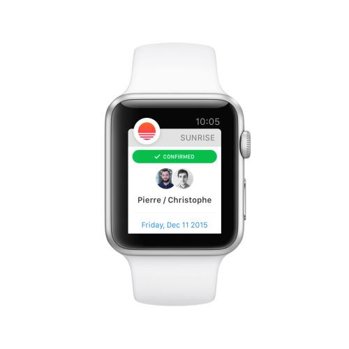Sunrise Apple Watch