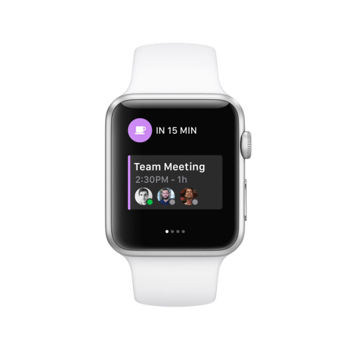 Sunrise Calendar Apple Watch App