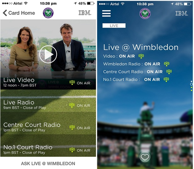 Wimbledon iPhone App