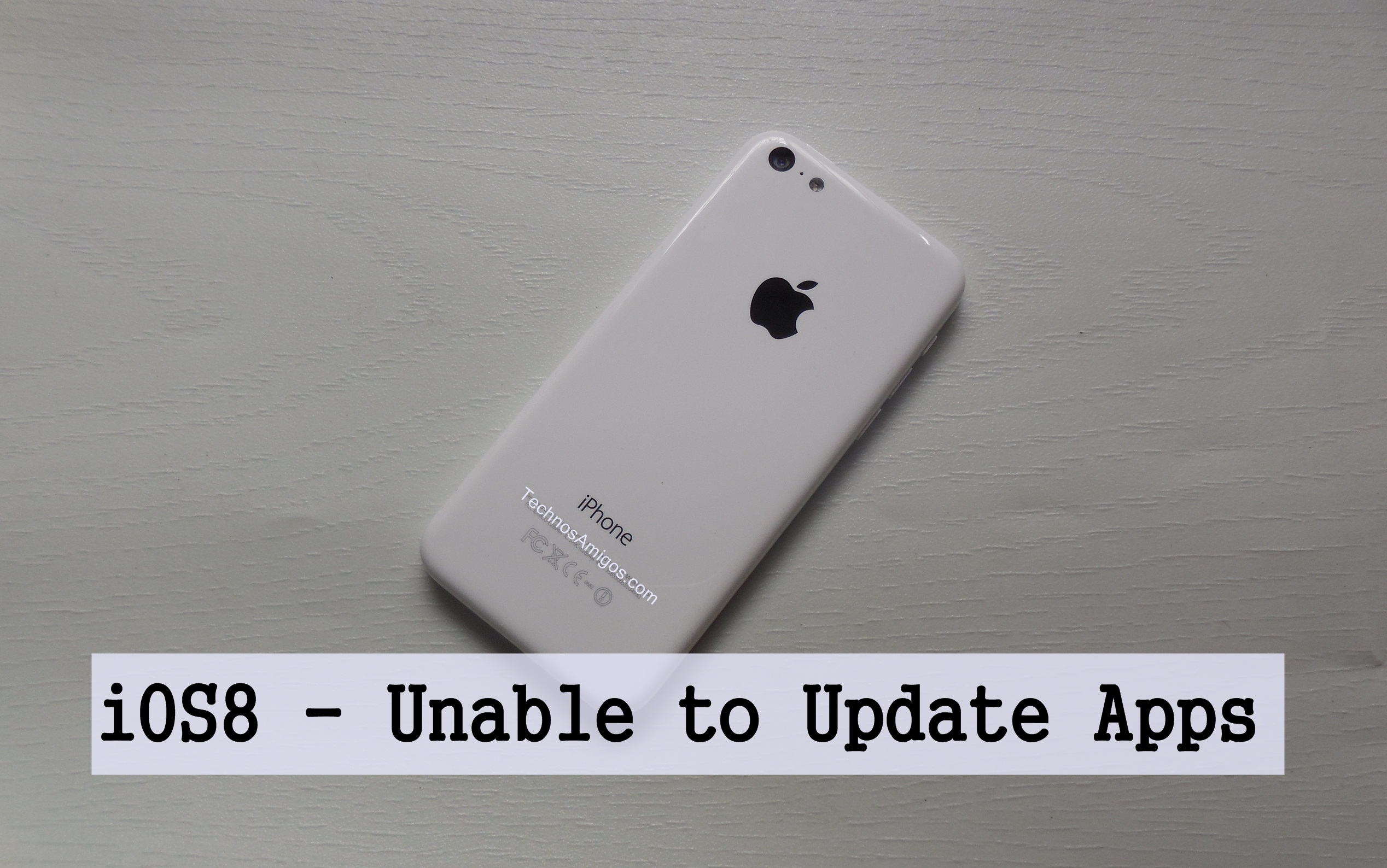iPhone Unable to Update Apps