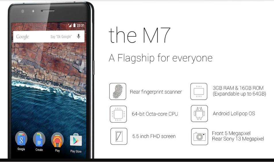 Zeaplus m7 Phone