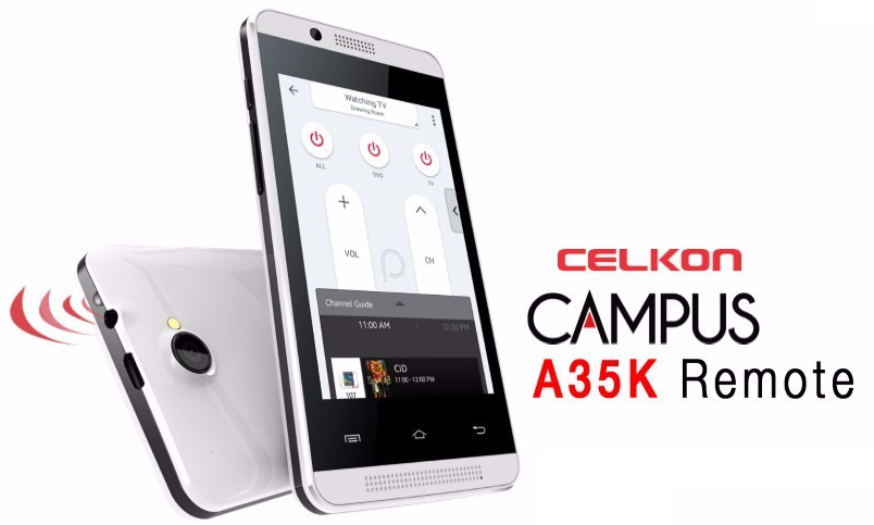 Celkon Campus A35K Remote Phone