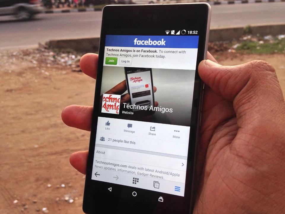 TechnosAmigos Facebook Page