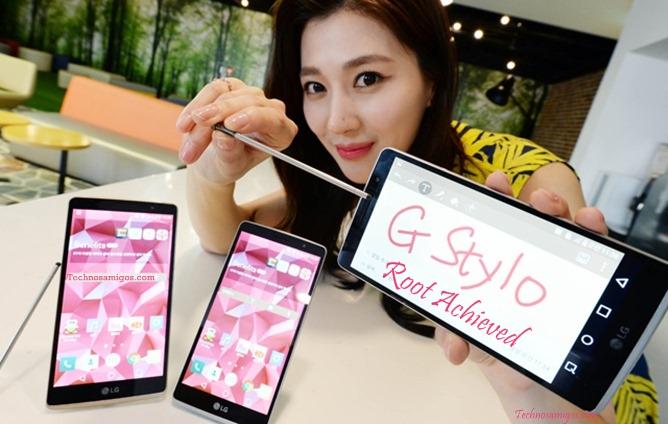 LG G Stylo Root