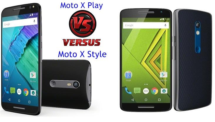 Motorola Moto X Style vs Moto X Play Comparison