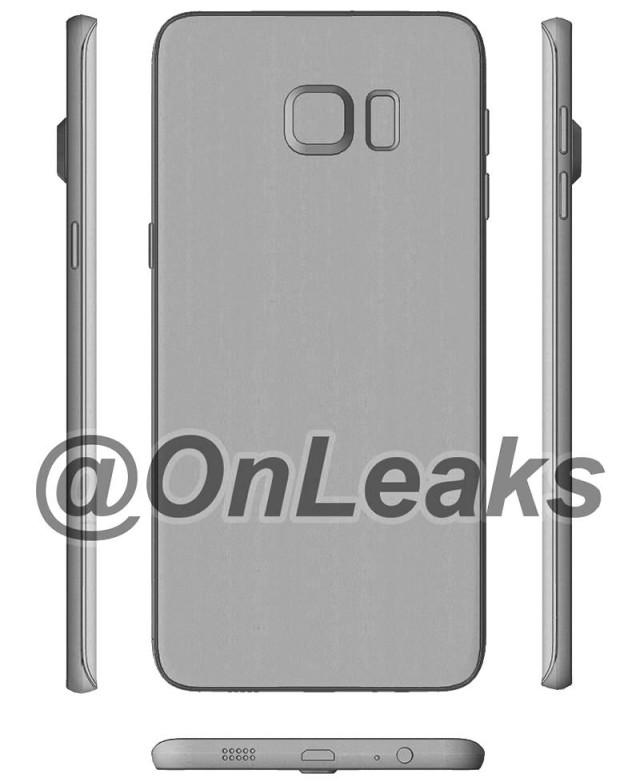 Samsung Galaxy S6 Edge Plus Leak Photo