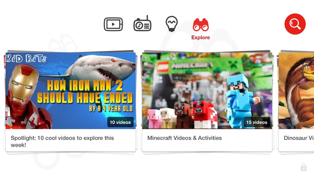 YouTube Kids for iPhone