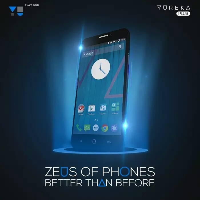 Yu Yureka Plus phone