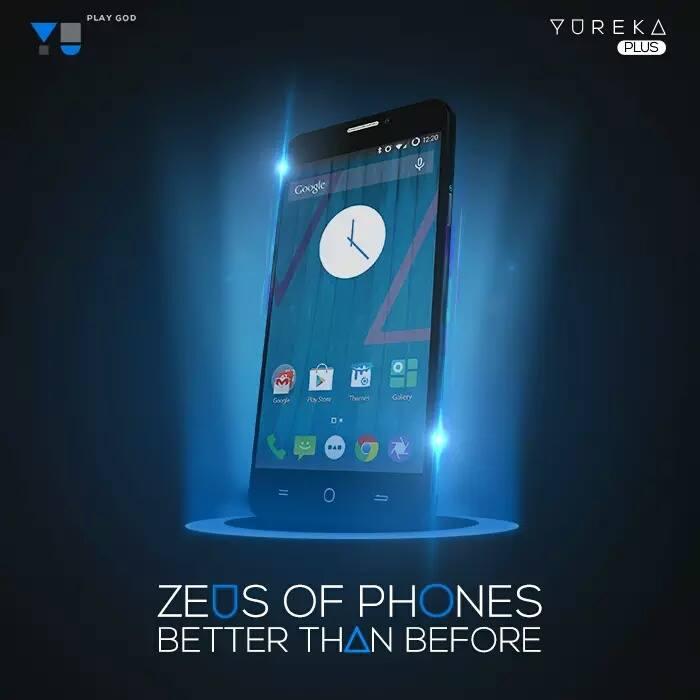 Yu Yureka Plus phone