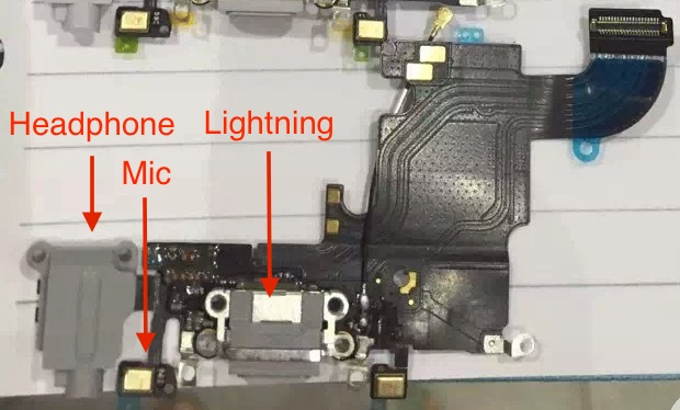 iphone 6s lightning annotated
