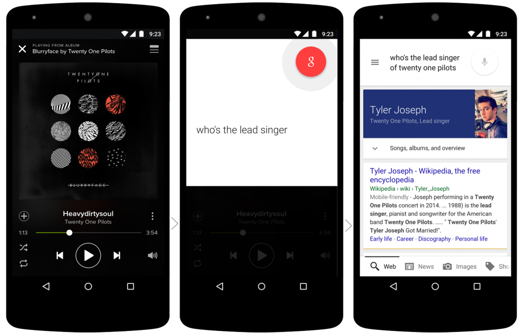 Google Now Launcher Marshmallow