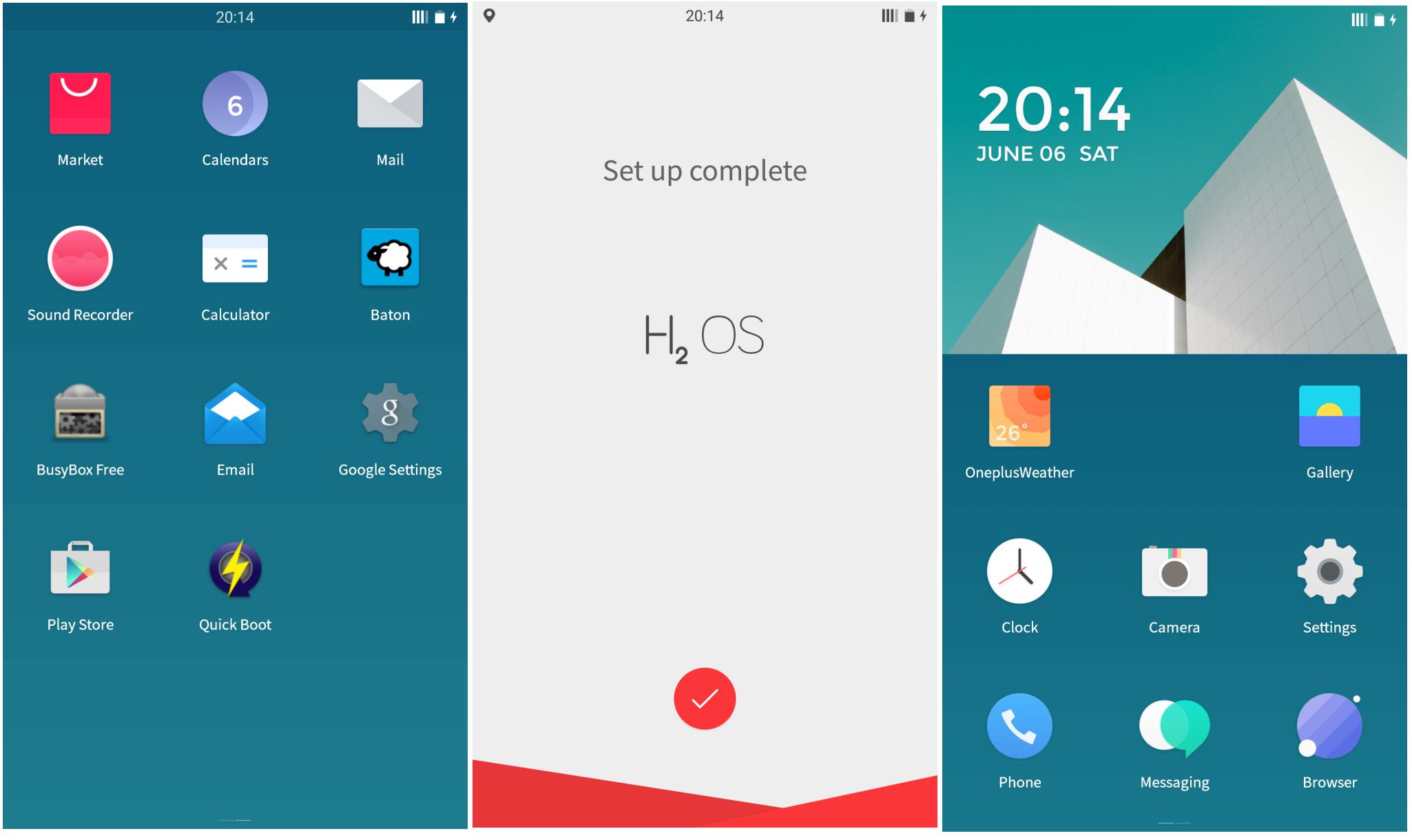 Hydrogen OS Launcher