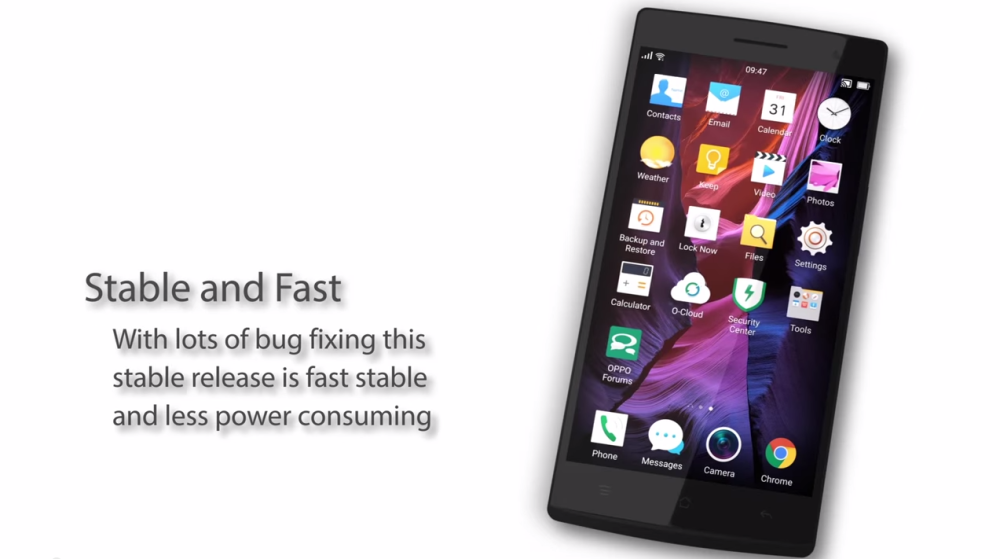 Oppo Find 7, 7A ColorOS