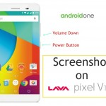 How to Take Screenshot on Lava Pixel V1