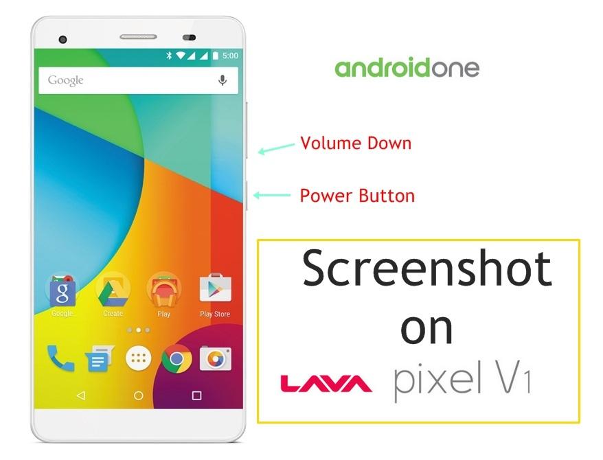 Screenshot on Lava Pixel V1