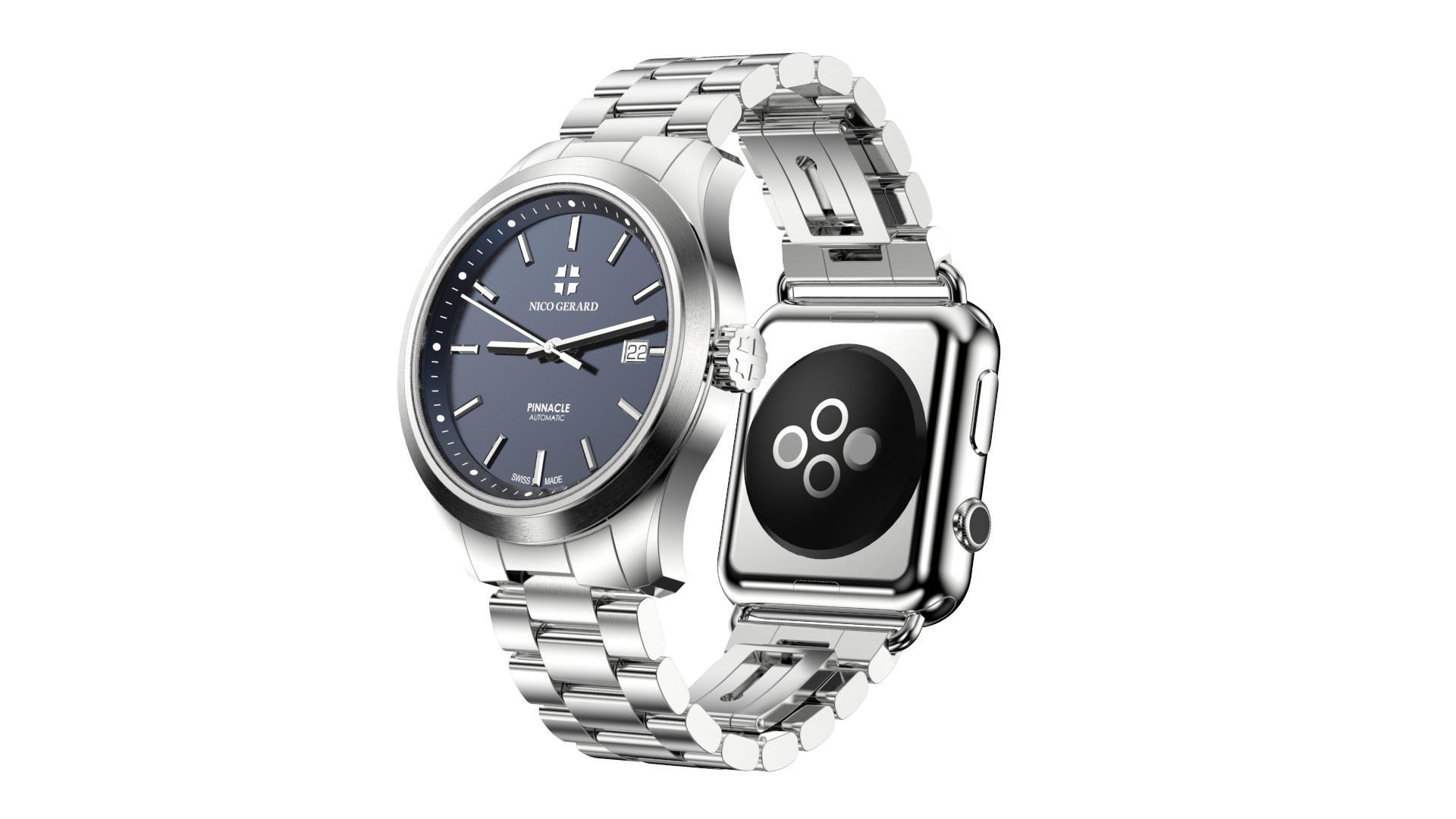 Two Faced Apple Watch