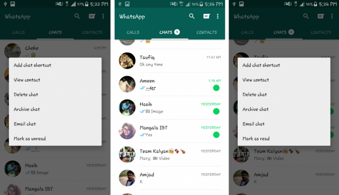 WhatsApp v2.12.250
