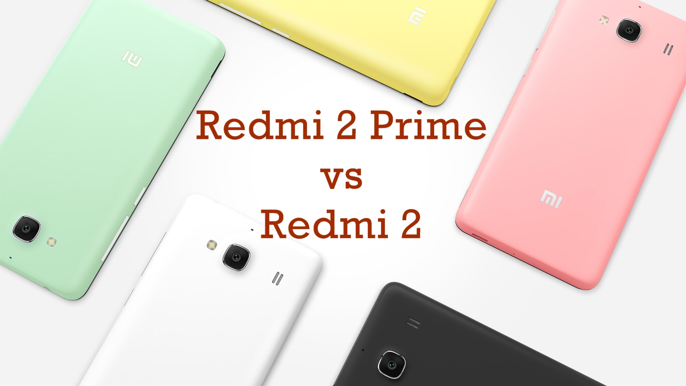 Xiaomi Redmi 2 Comparison