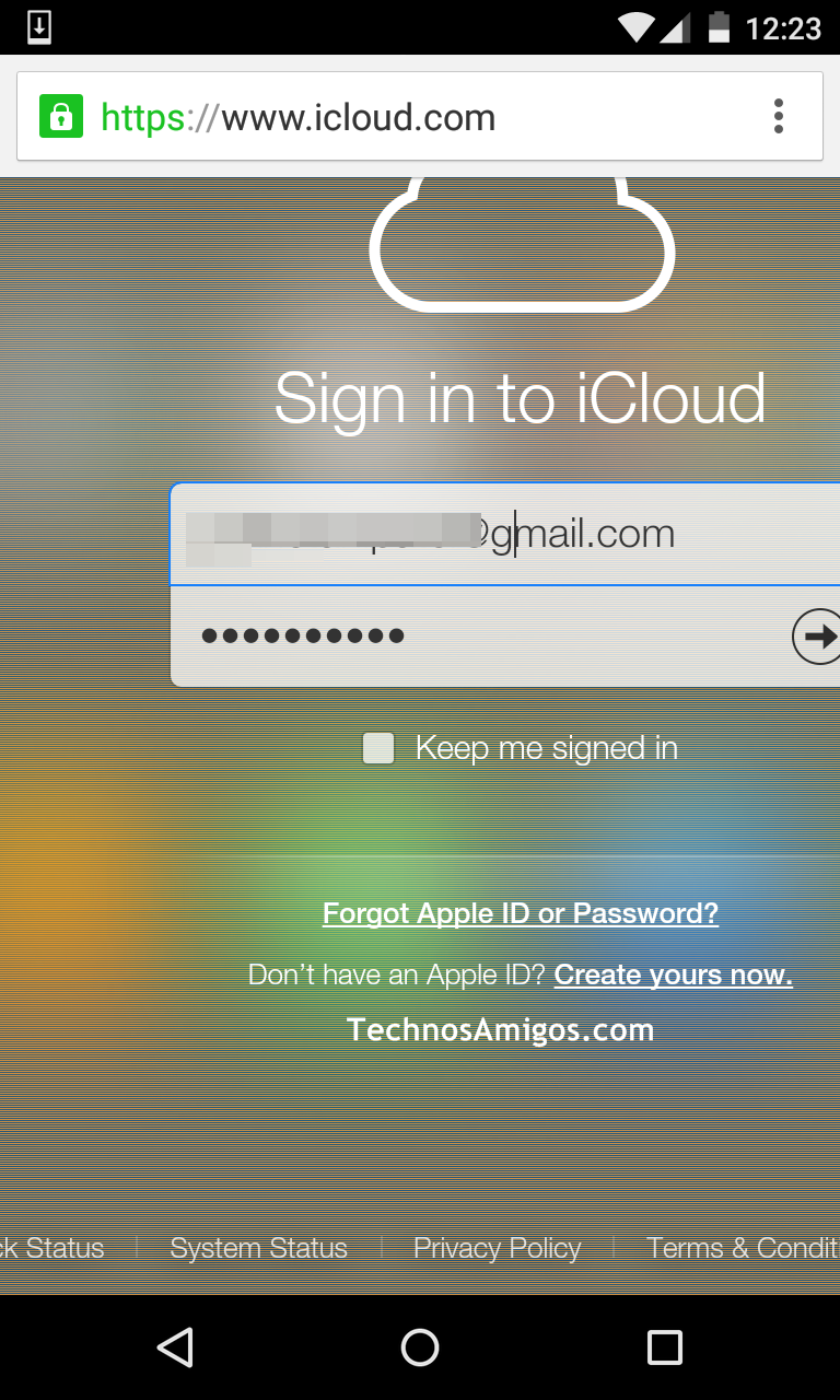 iCloud Apple ID