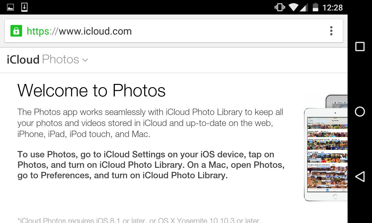 iCloud Photo Downloads
