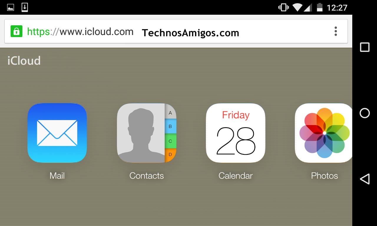 iCloud on Desktop