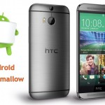 HTC One M8 Marshmallow Android 6.0 Update in December