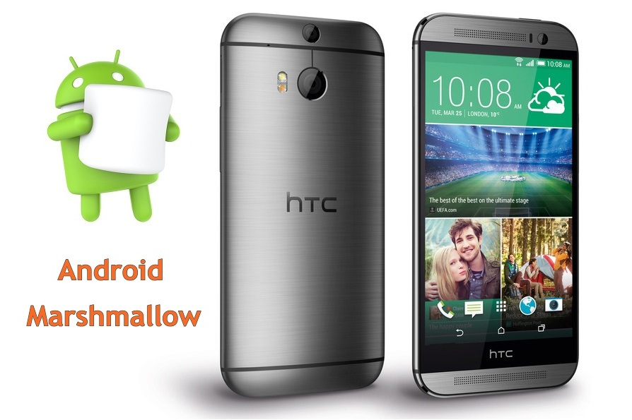HTC One M8 Marshmallow update