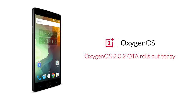 OnePlus 2 OxygenOS 2.0.2 Update