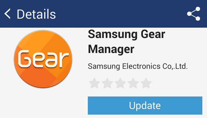 samsung gear manager apk for samsung wearables version 2 2