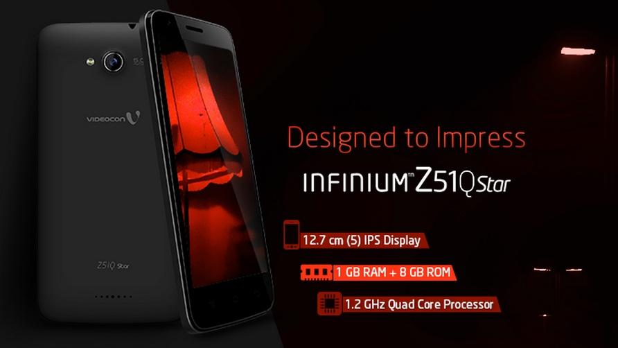 Videocon Infinium Z51Q Star